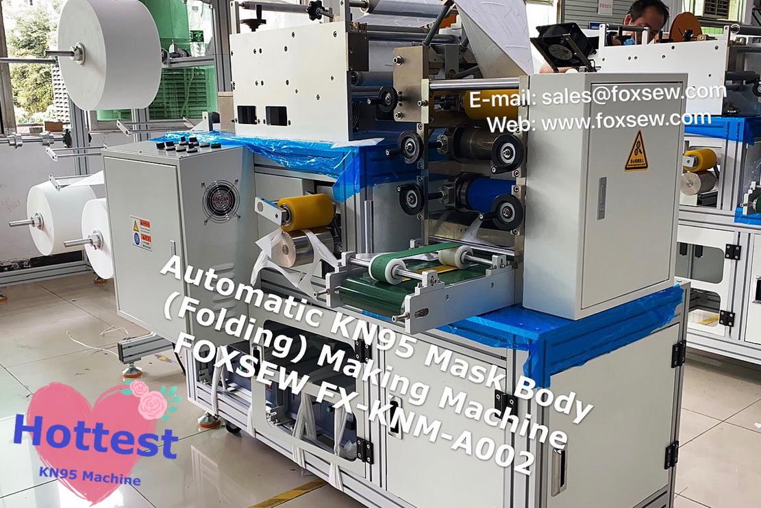 Automatic KN95 Mask Making Machine -7