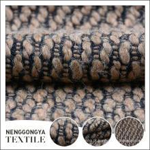 Top qualidade de alta qualidade bela tweed chenille tecido de microfibra