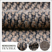 Высокое качество высокое качество красивый твид microfiber синеля ткань