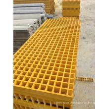 Grade de segurança de plástico reforçado com fibra de vidro FRP