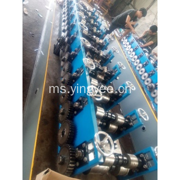 Double out roll forming machine purlin