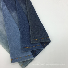 Tissu de coton de Twill de denim tricoté par TC pour la chemise