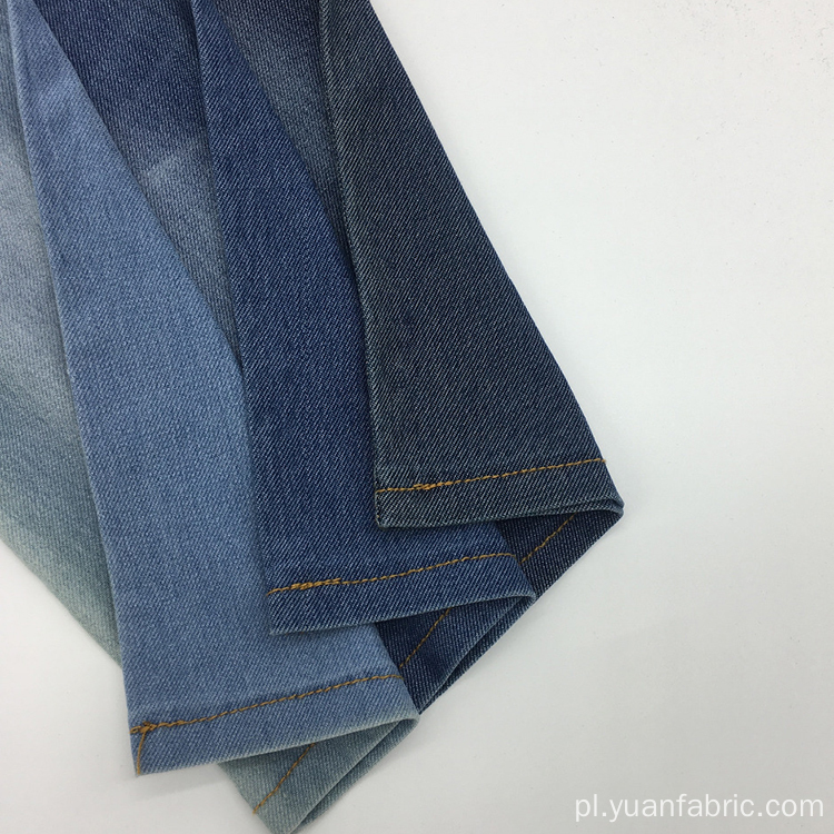 TC Dzianiny Denim Twill Cotton Fabric For Shirt