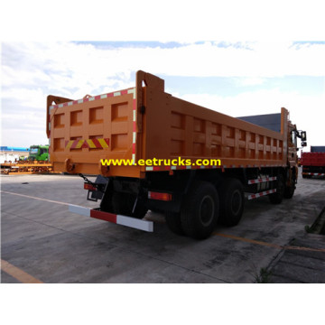 Camions Benne SHACMAN 8x4 30 Ton