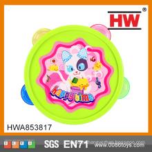 2015 Новый дизайн Смешное кольцо Игрушки для малышей Белл Ручной бубен