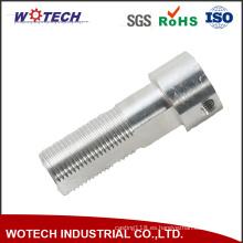 ISO 9001 aprobó el tornillo de perno que trabajaba a máquina del CNC de la precisión con el hilo