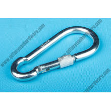 DIN5299d Zinc Plated Snap Hook with Screw