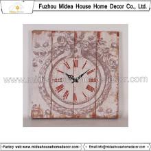 Shabby Chic Clocks Home Decor Grande Relógio de parede