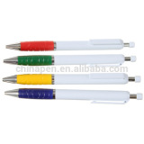 wholesales promotion ball pen with free samples/stationery ball pen with rubber/promotion ball pen with logo printing