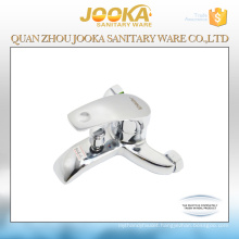 Wall mounted bath mixer faucet