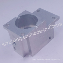 Custom Made CNC Machining Part for Aluminum Block with Anodizing Treatment