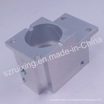 Bearbeitungsteil nach Maß CNC für Aluminiumblock mit anodisierender Behandlung