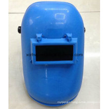 Wholesale Latest Design Blue Welding Mask with Welding Glass, Adjustable Harness Simple Design Black Welding Helmet