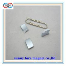hoja magnética permanente arco pequeño para el motor