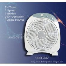 12-Zoll-Box Fan mit natürlichen Wind (USBF-807)