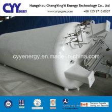 Réservoir de stockage de dioxyde de carbone d'argon d'oxygène liquide à basse pression industriel de vente à chaud avec différentes capacités