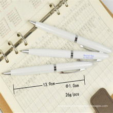 Novelty Style Metal Cap Action Ball Pen Logo Printing