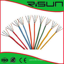 Best Price CCA Cat5e UTP Network Cable with Colorful Sheath