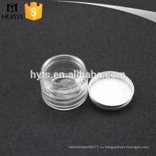 Крем для лица баночка стеклянная пустая косметический уход за кожей упаковка
