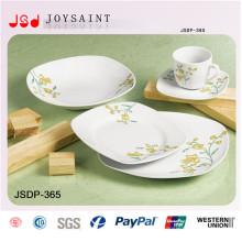 Venda quente conjunto de jantar quadrado (jsd116-s026)