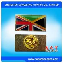 Emblema Combinational do Pin da bandeira da impressão