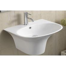 Bassin de salle de bains en céramique suspendu (5100)