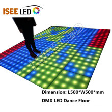 DMX RGB Pixel dance floor for sale