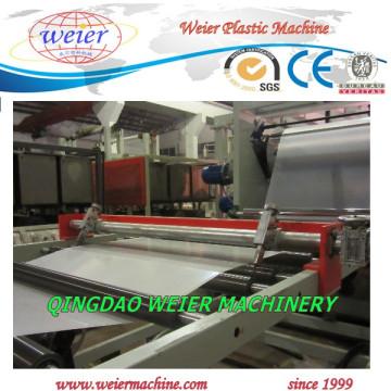 1000 mm de ancho de la línea de producción de láminas de plástico PP PE
