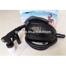 Sistema de interior de la miniatura que broncea el sistema de la cama Handheld HVLP Tan Spray Gun Airbrush Portable Inicio Profesional Tanning Machine