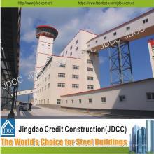 Edificio de estructura de acero de alta elevación