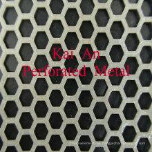 302,304,316 Malla perforada de acero inoxidable / malla de alambre perforada de acero inoxidable para máquina, filtro, protección, techo