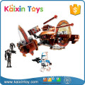 163PCS Creative Plastic Building Blocks For Preschool Children