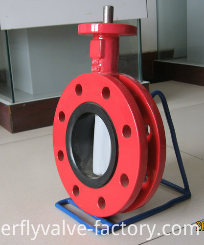 U-type Double Flanged Butterfly Valve (2)