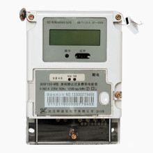 Statischer einphasiger digitaler Energie-Meter mit maximaler Laden-Aufzeichnung