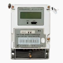 Medidor de energia digital estática de fase única com registro de carregamento máximo