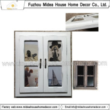 White Wall Photo Frame Collage