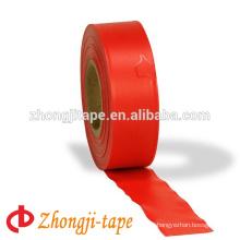 red pvc flagging warning tape
