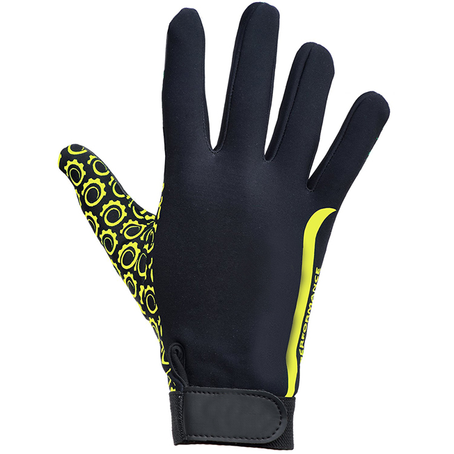 Yellow Black Touch Glove