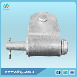 Insulator String Hardware Clevis and Tongue