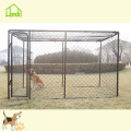 Günstige Chain Link Black Dog Run Kennel