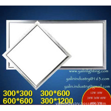 LED panel light, Pendant/Recessed ceiling lamp 300x300 600x600 600x1200mm