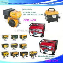 Gerador de gasolina de alta qualidade fabricante China Gerador de gasolina pequeno