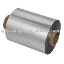 25 micron vacuum metallized PET brushed film