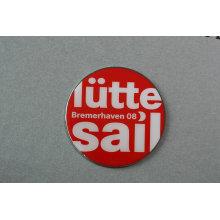 Lutte Sail Offset-Badge Imprimé avec Epoxy-Dripping Artwork (GZHY-YS-045)