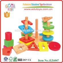 Bloque de juguete de madera de forma