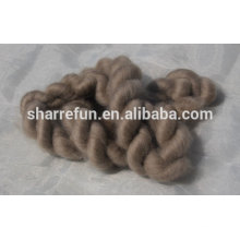 Mongolian brown cashmere tops 16.5mic/44mm