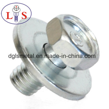 Hex Head Flange Bolt with Washer