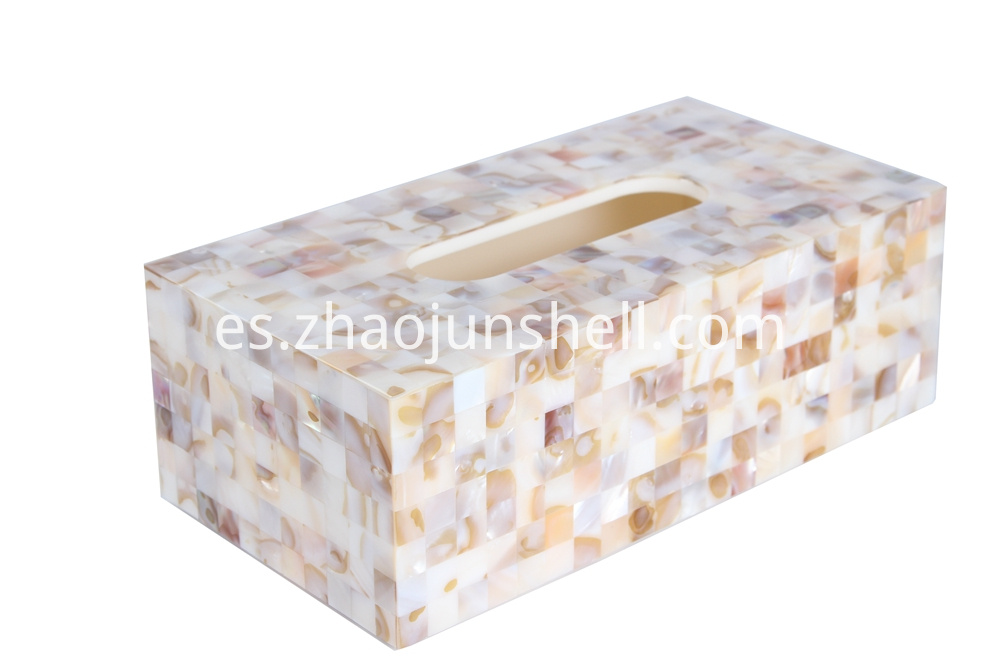 shell tissue box