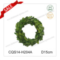 D15cm All Occasion Decorative Preserved Boxwood Wreath Wall Art