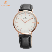 Casual Japan Movement Men Genuine Leather Analog Quartz Watch 72650